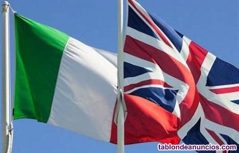 Clases De Italiano Y De Ingles Via Skype