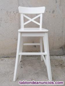 Trona blanca 45x38cm