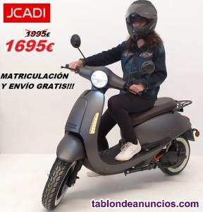 Moto JCADI DTR Eléctrica 100%