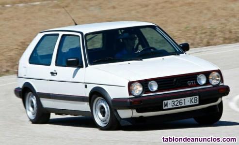VW Golf MK2. Llantas Originales