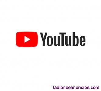 Se vende canal de youtube