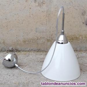 Lámpara blanca ø20x33cm