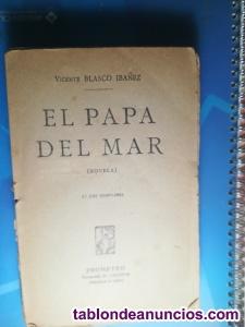 Libro antiguo El Papa...