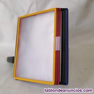 Soporte para marcos transparentes A4