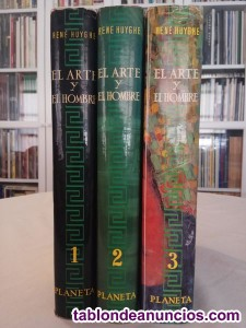 El Arte y el Hombre, Planeta, 3 tomos, 1973.