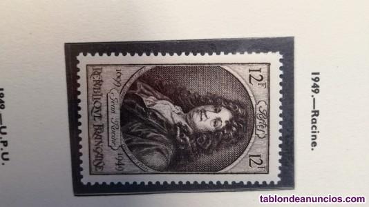 Importante colecciones de sellos
