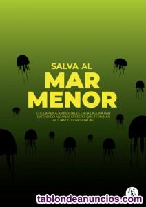 Voluntarios virtuales diseñadores campaña  medioambiental SOS MAR MENOR