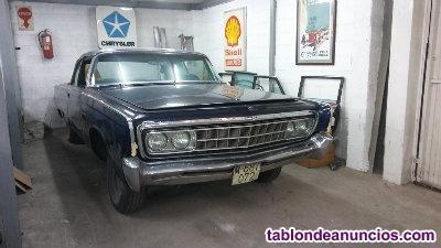 Chrysler imperial convertible coupé 1966