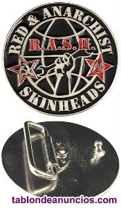 Hebillas para cinturón RASH - Red & Anarchist Skinheads