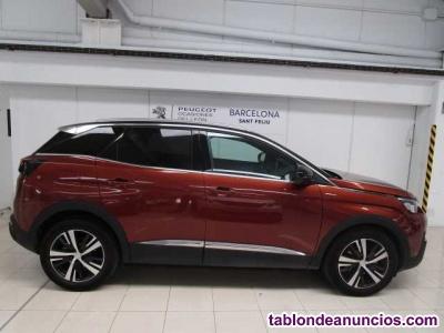 Peugeot 3008 gt line 1.2 pure tech 130 eat8  kilómetro 0