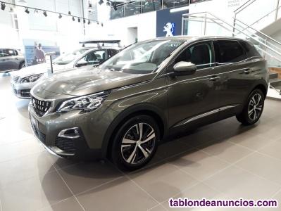 Peugeot 3008 allure 1.2 pure tech 130cv gasolina km 0