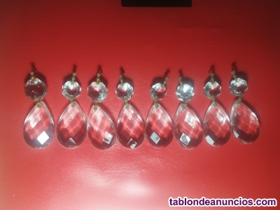 Lote cristales para lámpara