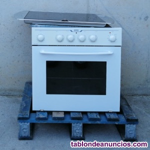 Cocina a gas con horno FRANKE