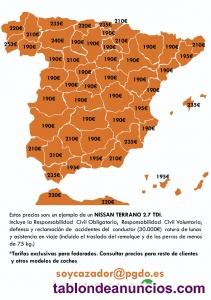 Seguros para cazadores y cotos en Ourense