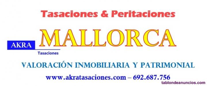 Tasaciones Mallorca - Valoración y peritaciones