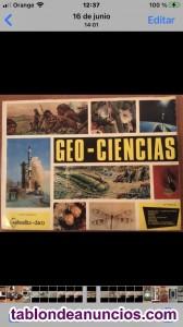 Colección Cromos Geo Ciencia
