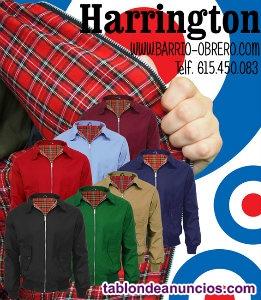 Cazadoras Harrington, Made in England. Muchos colores.