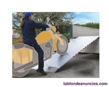 Rampas de aluminio para subir motos, motocicletas