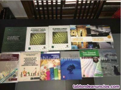 Libros UNED ADE Primer curso
