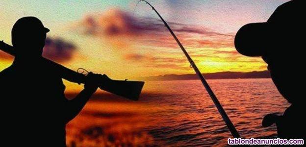 Magnifica tienda de caza y pesca