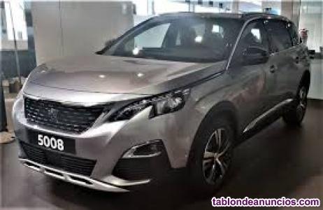 Peugeot 5008 gt line 130cv gaolina kilómetro `0´