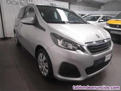 Peugeot 108 active 1.2 pure tech 82cv  gasolina