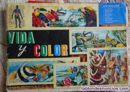 Dos álbumes de Vida y Color