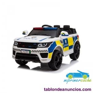 Coche Eléctrico Infantil Policía 12v