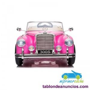 Coche Eléctrico Infantil Mercedes 300S 12v