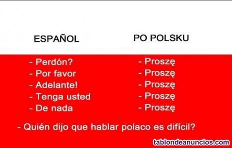 Gratuitas clases del polaco
