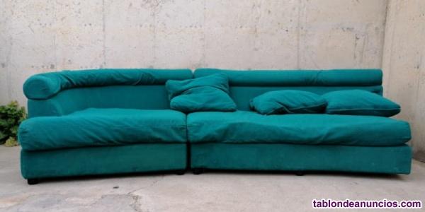 Sofá verde 250cm