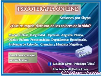 Psicoterapia on line