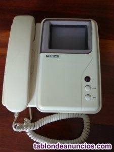 Se vende monitor de video portero en color blanco