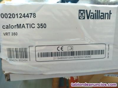 Termostato digital Vaillant nuevo.