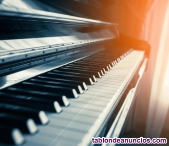 Curso online y presencial a domicilio de piano y lenguaje musical.