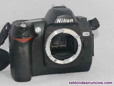 Equipo completo, Nikon digital,D70