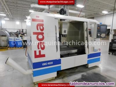 Centro de maquinado fadal 4020 2004! en venta