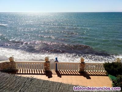 Fabuloso chalet frente al mar