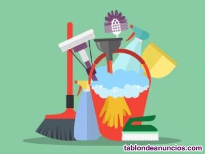 Buscamos personal de limpieza (solo autónomos)