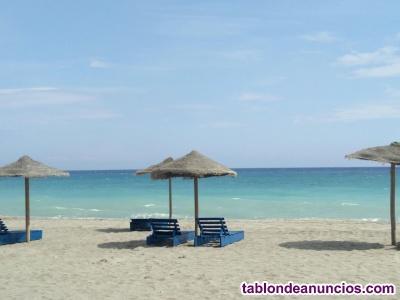 Vera playa: piso perfecto para descansar. Urbanización de lujo