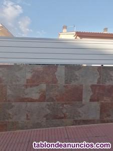 Muros bloques de hormigón