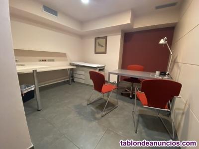 Alquiler Despacho en Centro Medico Barcelona- zona Clinica Corachan-Sarria