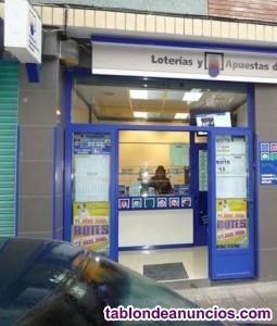 Se vende administración de Loterias(año 1977) por jubilación
