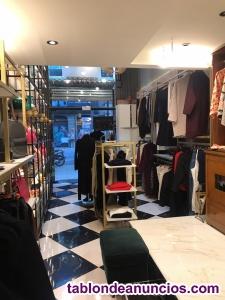 Traspaso preciosa tienda de moda