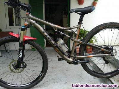 Bici montaña, amortigua doble, Tija telescopica-Sillín automatico, rueda29