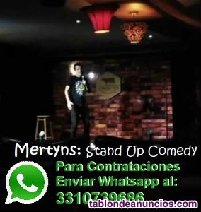 Mertyns: Stand Up Comedy, Guadalajara, Jalisco, MX