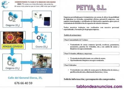 Limpieza y desinfección COVID 19