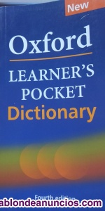 Dictionary Oxford Learner´s Pocket Diccionario inglés English