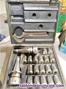 Accesorios y herramientas para fresadoras (Metal-mecánica).