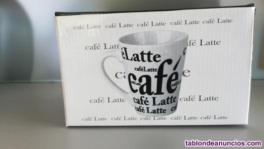 Tazas caffe-latte. Set